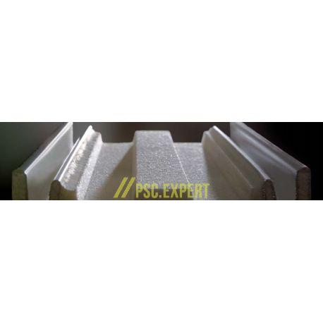 Холодильная сэндвич-панель с открытым креплением BalexTherm с основой из полииретана
