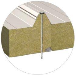 Кровельная сэндвич-панель BalexTherm с основой из базальтовой минеральной ваты