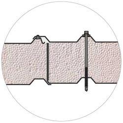 Кровельная сэндвич-панель BalexTherm с основой из полистирола