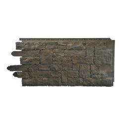 Цокольный сайдинг рваный камень (Канада)