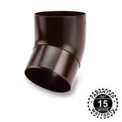 Колено водосточной трубы под углом 45º Galeco (пвх)