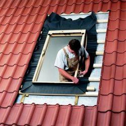 Монтаж мансардного окна