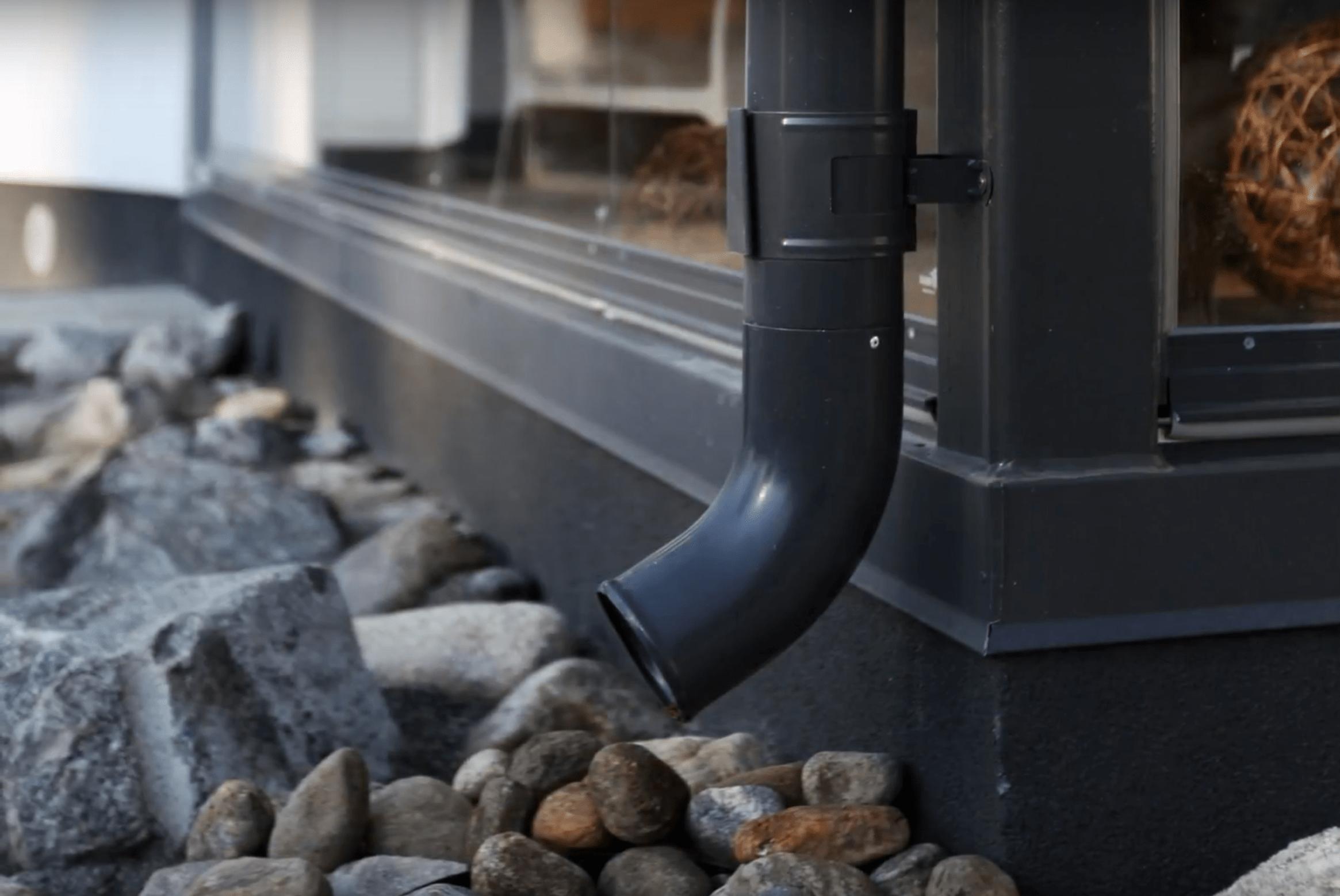 Сколько стоит металлический водосток